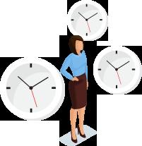 Horas de trabajo flexibles - Suprema BioStar 2