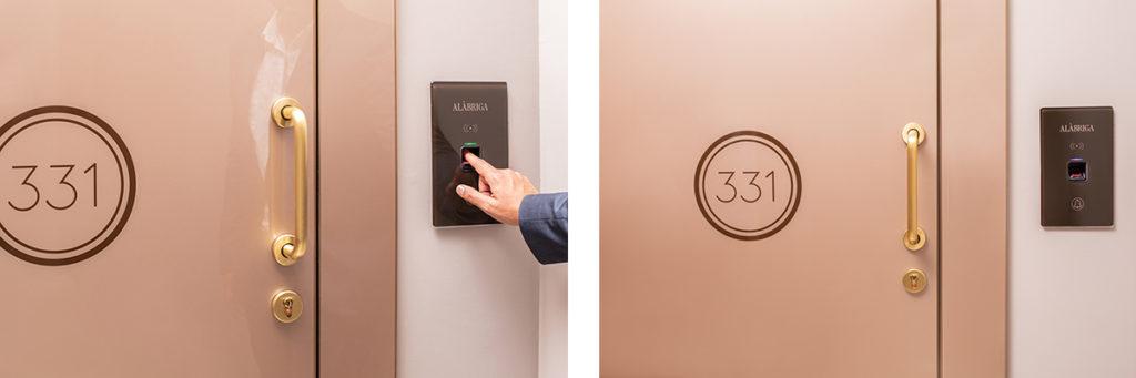 Control acceso y horario en hotel alàbriga