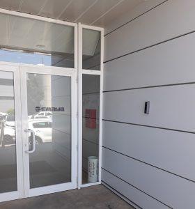 control horario y acceso a puertas en emaya