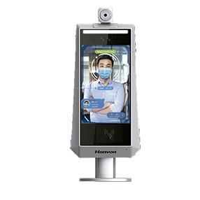 control horario con control de temperatura y reconocimiento facial